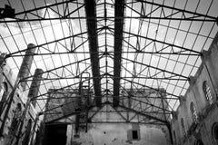 前糖工厂 免版税库存图片