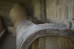 前酿酒厂 免版税库存照片