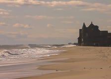 前门的海洋 免版税库存照片