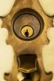 前门锁 免版税图库摄影