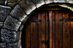 前门,片段 免版税库存照片