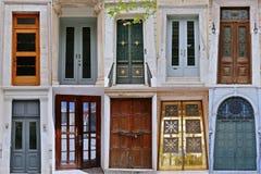 前门, Athenes 图库摄影