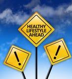 前面健康生活方式 图库摄影