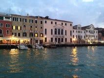 水前面在威尼斯 免版税库存图片