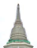前面寺庙大厦 库存图片