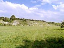 前面废弃的猎物区域 库存照片