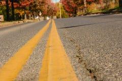 前面漫长的路 免版税图库摄影