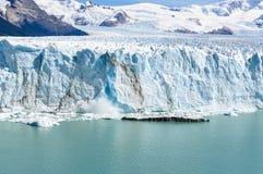 前面看法,佩里托莫雷诺冰川,阿根廷 库存图片