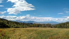 前面范围看法从La薇塔, CO的 免版税图库摄影
