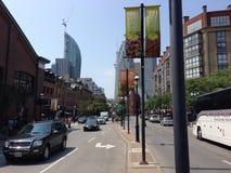 前面街道街市多伦多 图库摄影