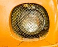 前面车灯的细节 免版税库存图片