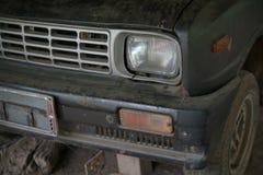 前面车灯的细节 库存图片