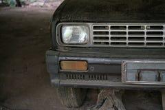 前面车灯的细节 库存照片