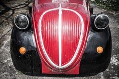前面细节菲亚特500 Topolino 库存照片