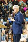前总统竞选在宾夕法尼亚的比尔・克林顿 免版税库存照片