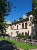前Czartoryski家庭宫殿,鲁布林,波兰 免版税库存照片