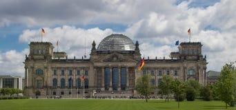 前Reichstag Buidling 库存图片