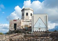 前Semaforo Borbonico在巴勒莫 西西里岛 库存照片