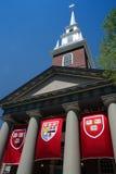 剑桥哈佛广场 免版税库存照片