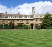 剑桥基督学院s大学 免版税库存照片
