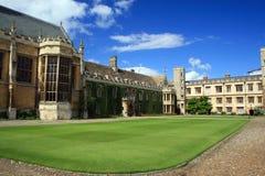 剑桥学院三位一体 免版税库存照片