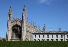 剑桥学院国王 免版税库存图片