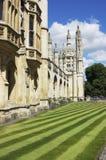 剑桥学院国王 免版税图库摄影