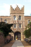 剑桥学院耶稣大学 图库摄影