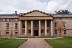 剑桥学院舍去的大学 免版税库存图片