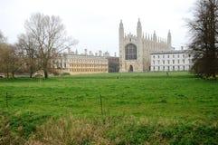 剑桥学院s国王 免版税库存图片