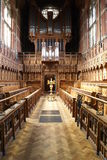 剑桥教堂大学 免版税库存图片