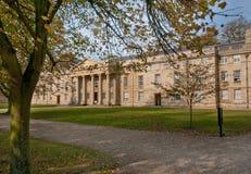 剑桥教堂学院舍去的大学 库存照片