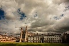 剑桥教堂学院s国王大学 免版税库存照片