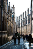剑桥曲线 免版税库存照片