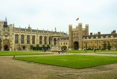 剑桥校园大学 库存照片