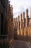 剑桥缩小的街道 图库摄影