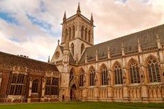 剑桥英国学院的国王 免版税库存照片