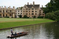 剑桥英国 库存图片