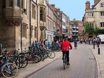 剑桥英国 免版税图库摄影