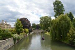 剑桥英国 库存照片