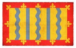 剑桥郡大英国难看的东西旗子  免版税库存照片