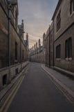 剑桥维多利亚女王时代街道 库存照片