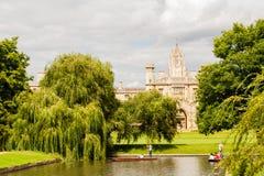 剑桥 免版税库存图片