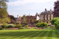 剑桥clare学院英国 免版税库存照片