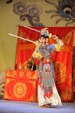 剑舞蹈北京歌剧:对我的姘妇的告别 库存照片