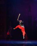 """剑舞蹈阿里巴巴和四十窃贼芭蕾""""One一千和一Nights† 库存照片"""