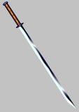 剑- katana 库存图片