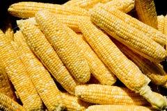 剥壳的玉米 免版税库存图片