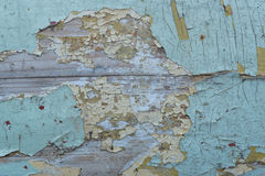 13剥落的油漆 库存照片