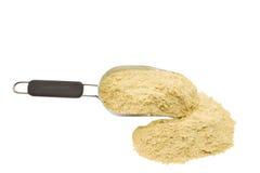 剥落nutrional酵母 免版税图库摄影
